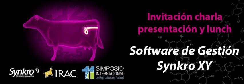 Invitación charla presentación y lunch del software Synkro XY